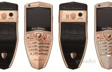 林寶堅尼全新Sypder 玫瑰金鑽飾系列手機
