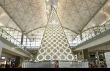 香港國際機場「SWAROVSKI閃亮聖誕樹」