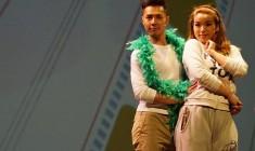 白健恩孭飛賀歲音樂劇《 大家樂》