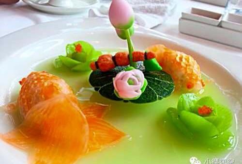迪士尼酒店晶荷軒  美食如嚐工藝品