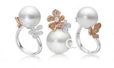 景褔珠寶母親節表心意  粉鑽珍珠顯母愛