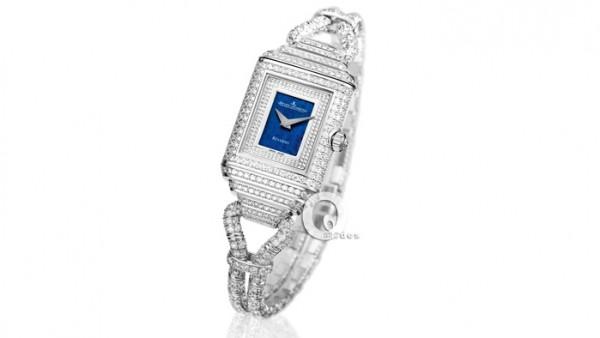 積家女裝絲鏈雙面翻轉系列腕錶