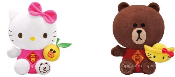 7-Eleven x LINE FRIENDS x Sanrio characters聯乘賀歲!