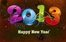 祝各位開開心心過 2013