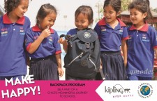 KIPLING「MAKE HAPPY! 」計劃
