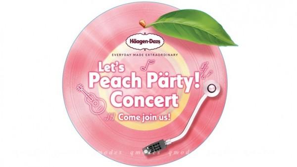Häagen-Dazs「桃之盛夏」音樂派對