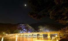 年度壓軸盛典「京都・嵐山花燈路」