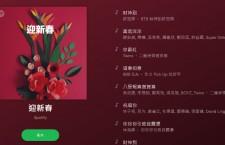 Spotify十二生肖精選歌單