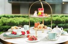 香港美利酒店「士多啤梨鮮果下午茶」
