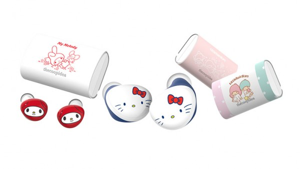 【聖誕禮物推薦】 thecoopidea 推出 Sanrio series Beans+ Earbuds 系列耳機